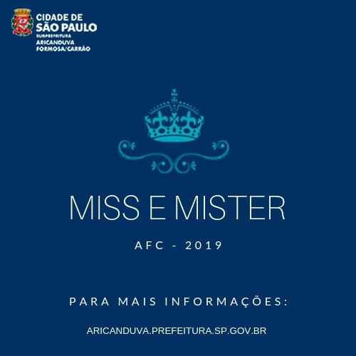 "Concurso ""Miss & Mister"""