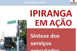 Capa do informativo Ipiranga em Ação