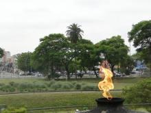 Região do Parque da Independência teve trabalho de zeladoria