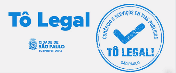"Imagem colorida mostra a logo do programa ""To Legal"" em tom azul"