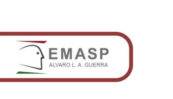 Logo da Escola Municipal do Servidor, perfil de um rosto