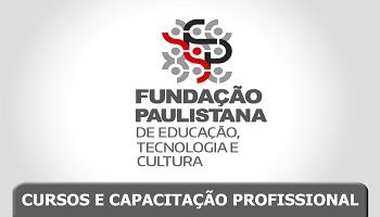 #PraCegoVer - Logo da Fundação Paulistana